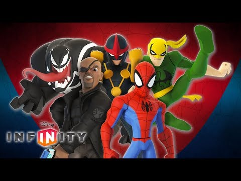 Spiderman Cartoon Game Video Spider Man Video Games Disney Infinity 2 0 Youtube