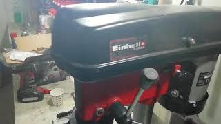 Einhell TC BD 350 sütunlu matkap incelemesi internette ilk defa