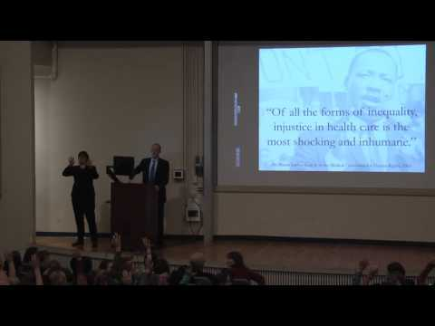 Dr. Paul Farmer, The Current State of Global Health