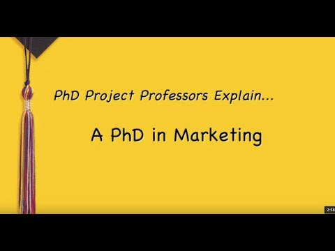 Interested In A PhD In Marketing?
