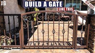 Small Decorative Arch-top Gate    JIMBO