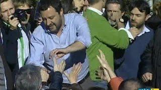 Matteo Salvini: il leader della Lega a Biella