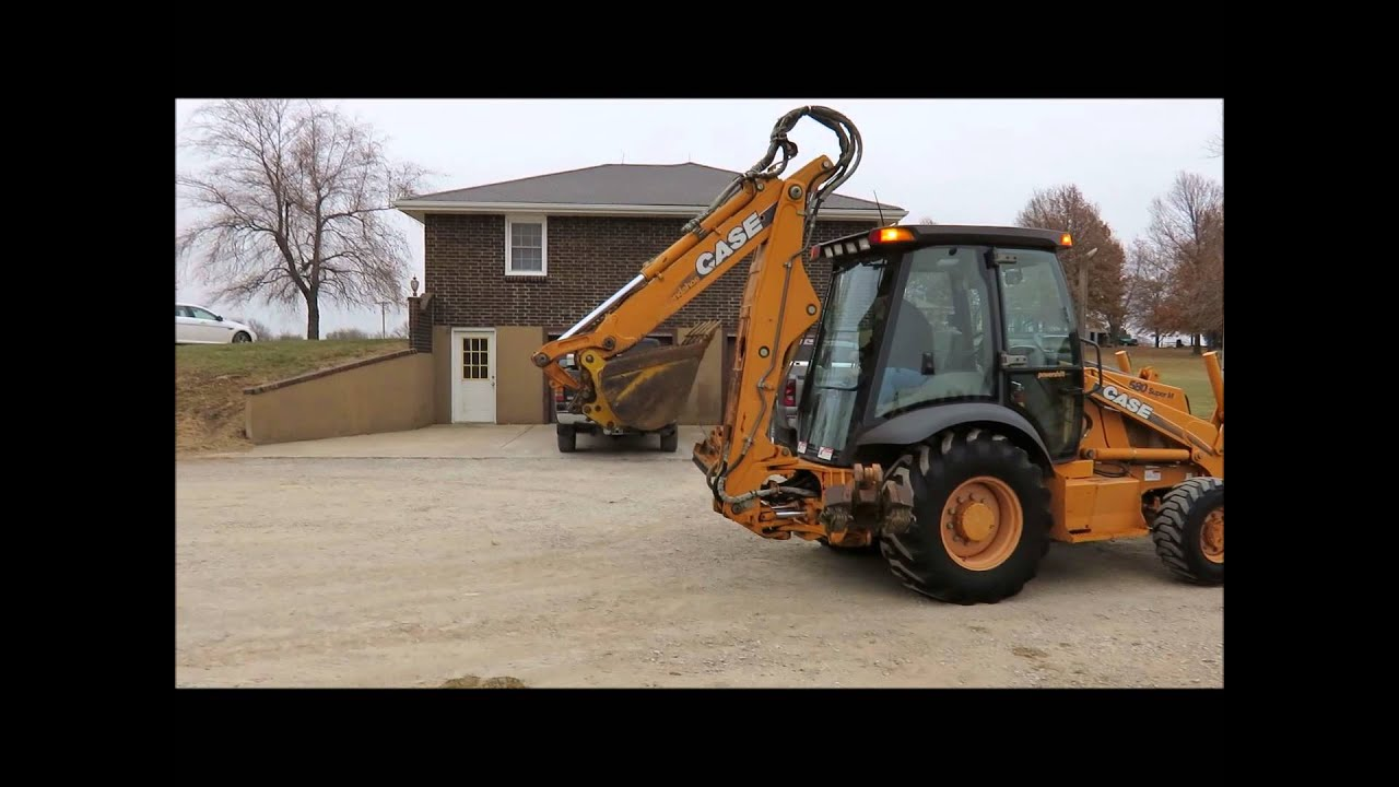 2002 Case 580 Super M backhoe for sale | sold at auction December 31, 2014