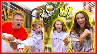 Handcuffed to Our Parents for 24 Hours! | We Are The Davises Video