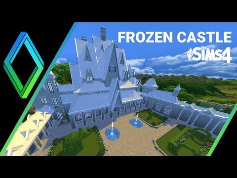 The Sims 4 House Building -  Frozen Castle