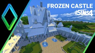 The Sims 4 - Building Frozen Castle