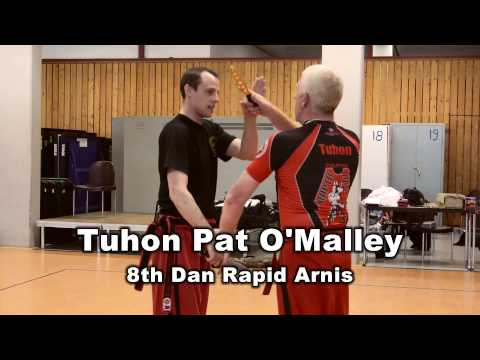 Tuhon Pat O'Malley and GM Datu Dieter Knüttel  Super seminar  part two