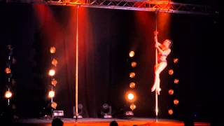 French Pole Dance Championship 2014 : The Winner ! Prana SPARK OVIDE ETIENNE
