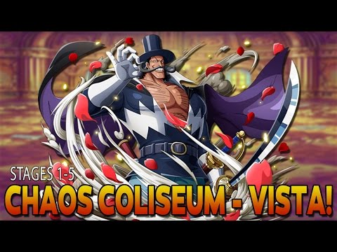 CHAOS COLISEUM VISTA | STAGES 1-5 (One Piece Treasure Cruise - Global)