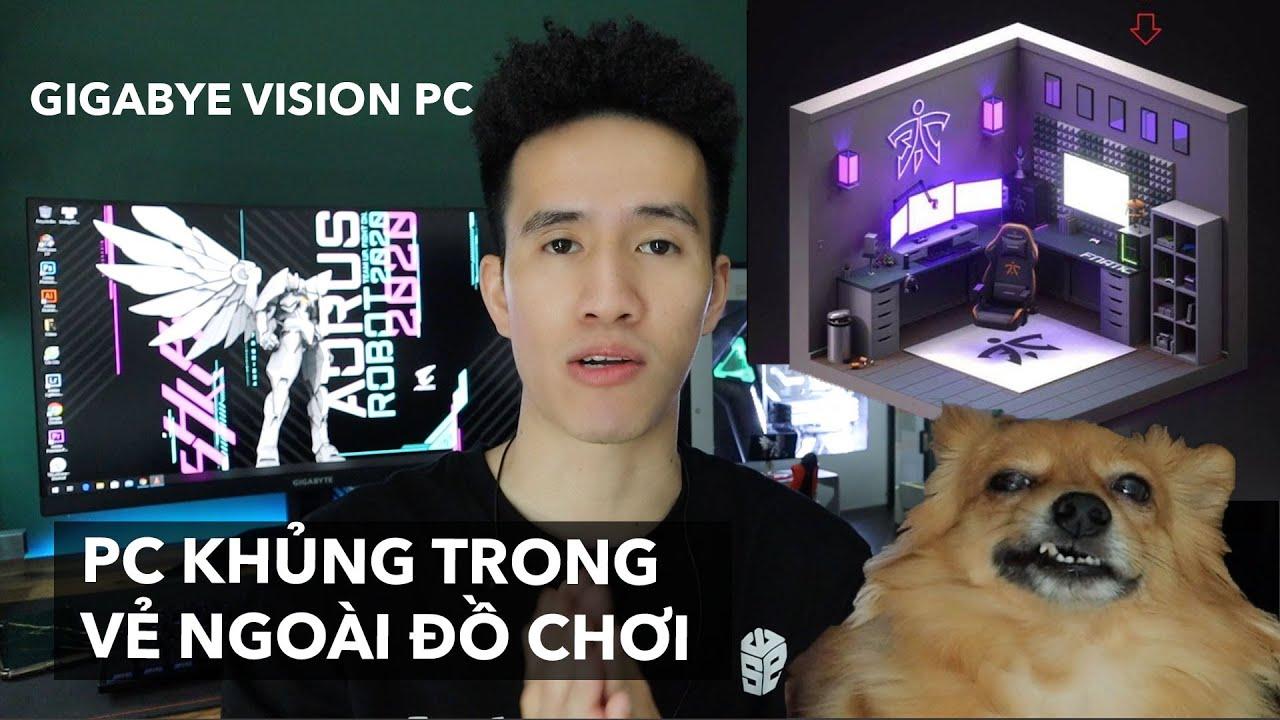 Đập hộp máy tính Vision đến từ tương lai | Anh bạn thân