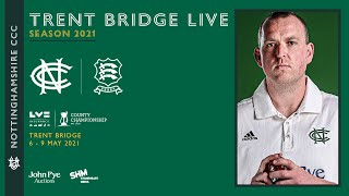 LIVE STREAM   |    Nottinghamshire CCC vs Essex CCC   |   Day 1 Action Trent Bridge