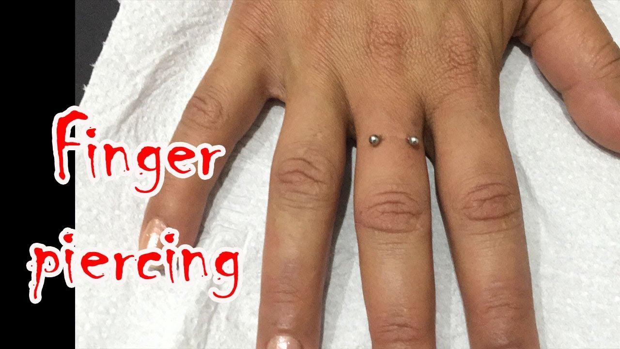 Piercing No Dedo Finger Piercing