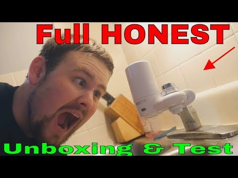 brita-tap-water-filter-faucet-sink-filtration-purifier---full-honest-unboxing-&-test-&-review