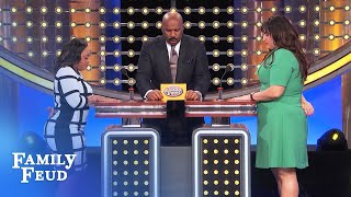 A COP pulls over the guy who DUMPED HER...   Family Feud