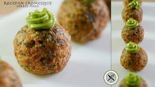 Rockfish Cromesquis Amuse-Bouche–Bruno Albouze–The Real Deal