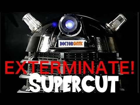 EVERY EXTERMINATE!  Doctor Who Supercut