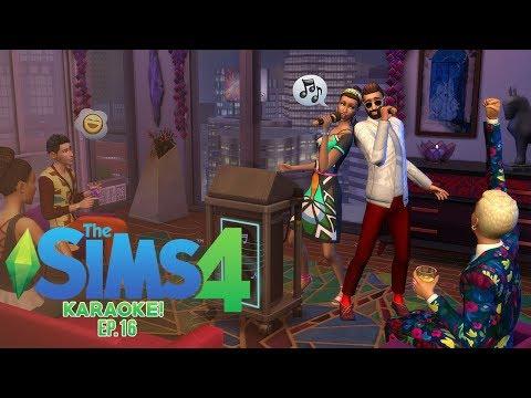 BAR KARAOKE!   The Sims 4 #16