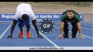Cristiano Ronaldo vs Usain Bolt 100m