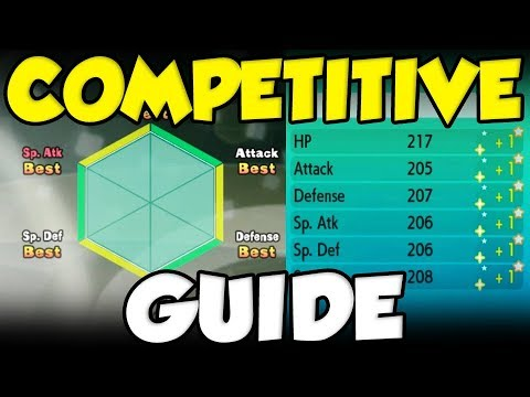 COMPLETE Pokemon Let's Go Competitive Pokemon Guide! Candy - IVs - And More!