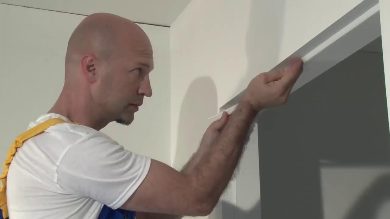 Montaggio Porta Filo Muro Cartongesso montaggio di un telaio e di una porta filo muro