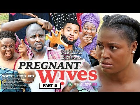 """New Movie """"PREGNANT WIVES PART 5"""" - 2019 Latest Nigerian Nollywood Movie Full HD thumbnail"""
