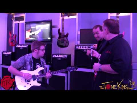 DEMO : Peavey VYPYR VIP Series 1, 2, 3 : NAMM 2013 w Dakota Plays Guitar & Fred Poole !!!