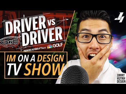 IM ON A DESIGN TV SHOW! Wilson Driver vs. Driver NBC Golf Channel #Teamlongbeach
