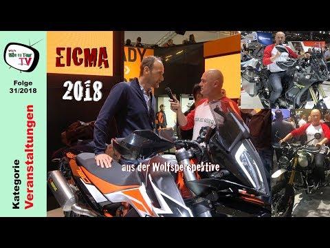 EICMA  | KTM  Adventure R | Yamaha Ténéré  | Triumph Scrambler  | Honda CRFL