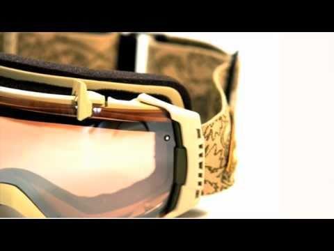 cb37b7e7a3 smith I O goggle lens change - YouTube