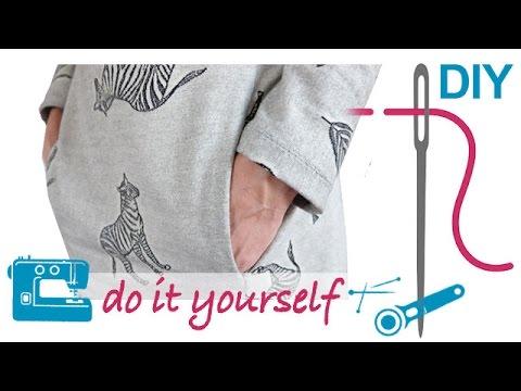 Nählexikon von A–Z – Seitliche Eingriffstaschen – Nähen lernen mit Zierstoff