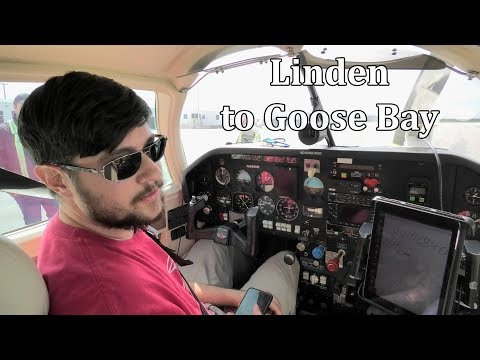 Flying Northeast Canada Pt1 Goose Bay