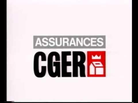 Publicité Assurances CGER (Caisse Générale d'Epargne et de Retraite)