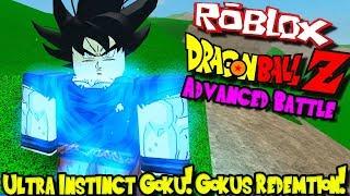 ULTRA INSTINCT GOKU! GOKU'S REDEMTION! | Roblox: Dragon Ball Advanced Battle