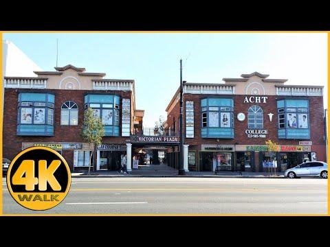 Walking Tour Of Pacific Blvd, City Of Huntington Park [4K]