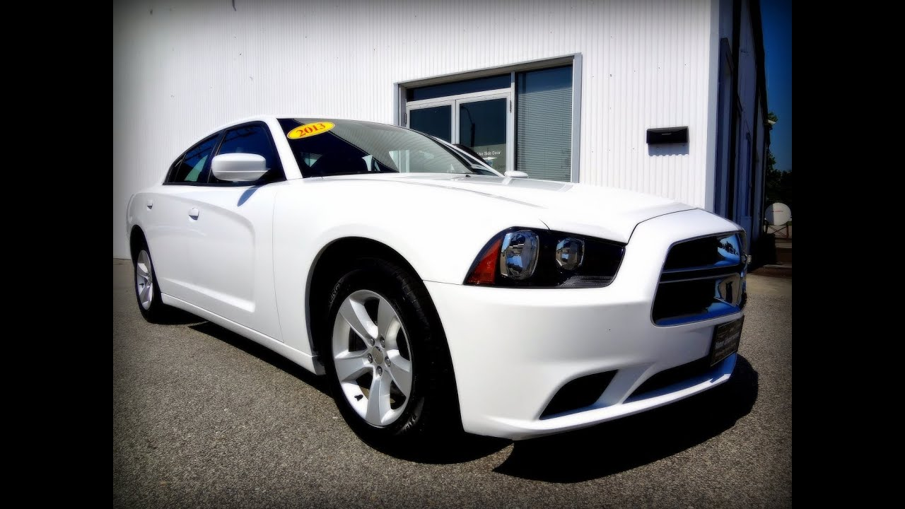 2013 dodge charger se - youtube