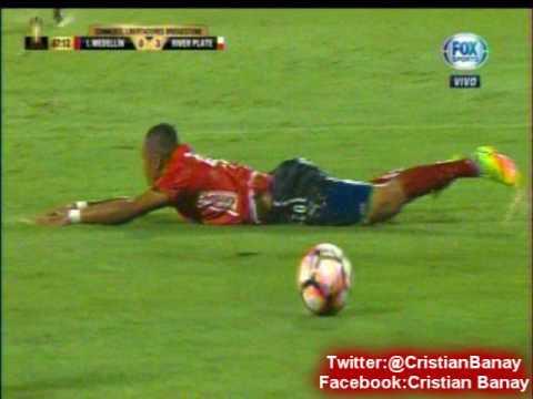 Independiente Medellin 1 River 3 (Relato Costa Febre) Copa Libertadores 2017