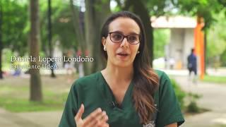 UdeA - Daniela saluda al profe Federico. Día del Maestro 2018