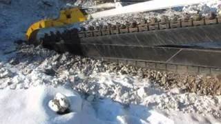 видео Агрегат траншейный АТМ.00.00.000-11