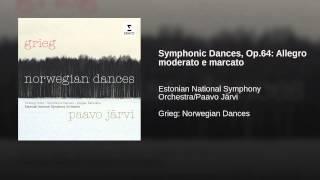 Symphonic Dances, Op.64: Allegro moderato e marcato