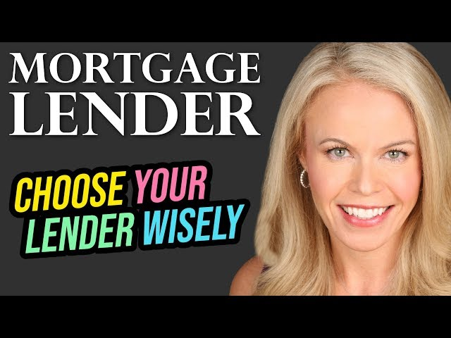 How the Mortgage lender you use can cost you BIG $$$$$$$
