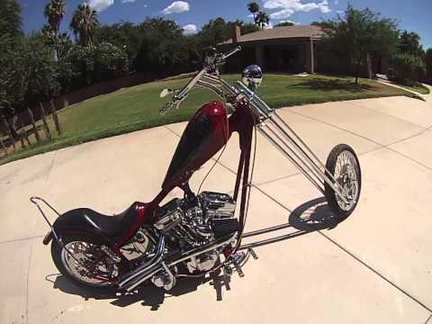 Long Red Chopper 30