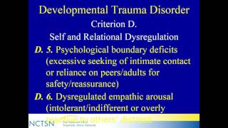Update on Complex PTSD and Developmental Trauma Disorder for Clinicians and Researchers