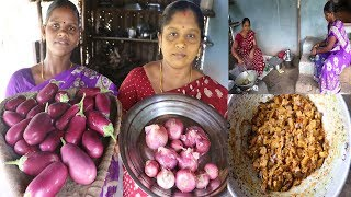 Afternoon Vlog Brinjal fry