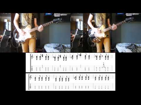 Foo Fighters - Rope guitar cover with tabs