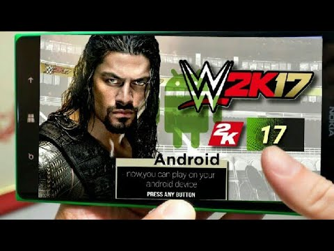 WWE 2k17 APK + OBB (OFFLINE) Android Game Download(Easy Method)