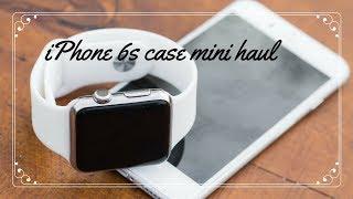 Aliexpress iPhone 6s Phone case mini haul