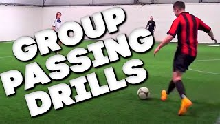 6 soccer passing drills football passing drills soccer drills