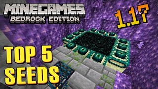Top 5 SEEDS com Geodos de AMETISTA Inacreditáveis no Minecraft BEDROCK 1.17