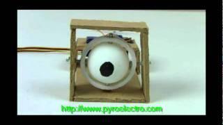 Animatronic Eyes - 2 Axis Gimbal