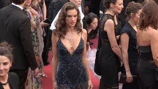 Alessandra Ambrosio, Izabel Goulart and more on the red carpet for the Premiere of Solo: A Star Wars